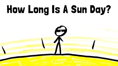 how long is a day on the sun