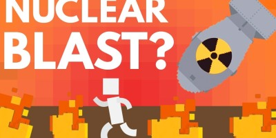what will a nuclear blast do to your body