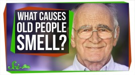 what causes old people smell