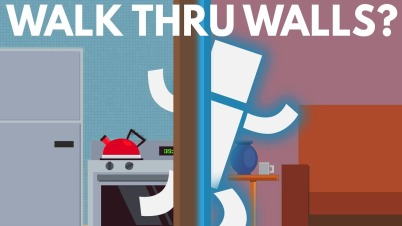 Why Can't We Walk Through Walls?