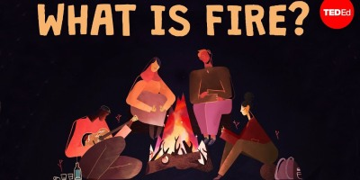 Is fire a solid, a liquid, or a gas? - Elizabeth Cox