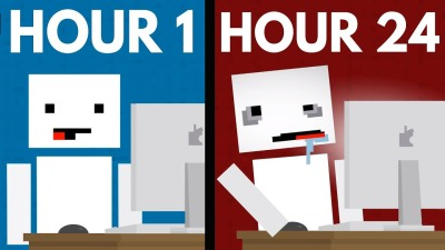 What Happens When You Stare At A Screen For 24 Hours?