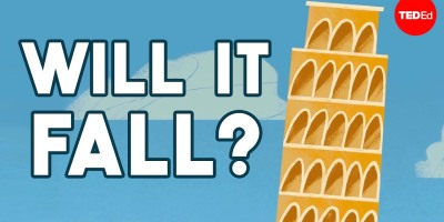 Why doesn't the Leaning Tower of Pisa fall over?