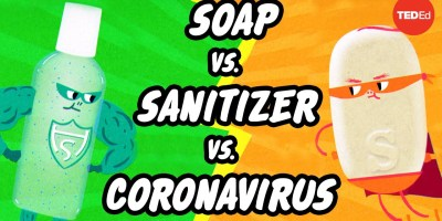 Which is better: Soap or hand sanitizer?