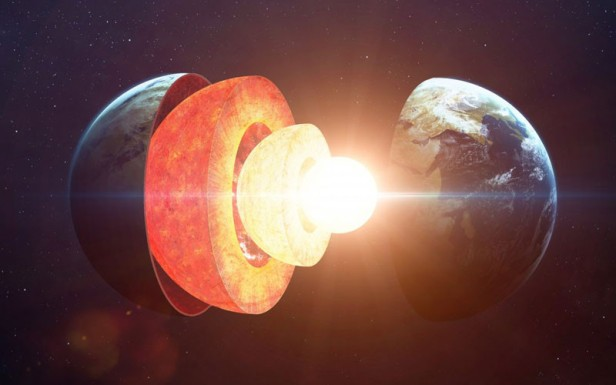 Earth's Core Is 2.5 Years Younger Than Its Surface