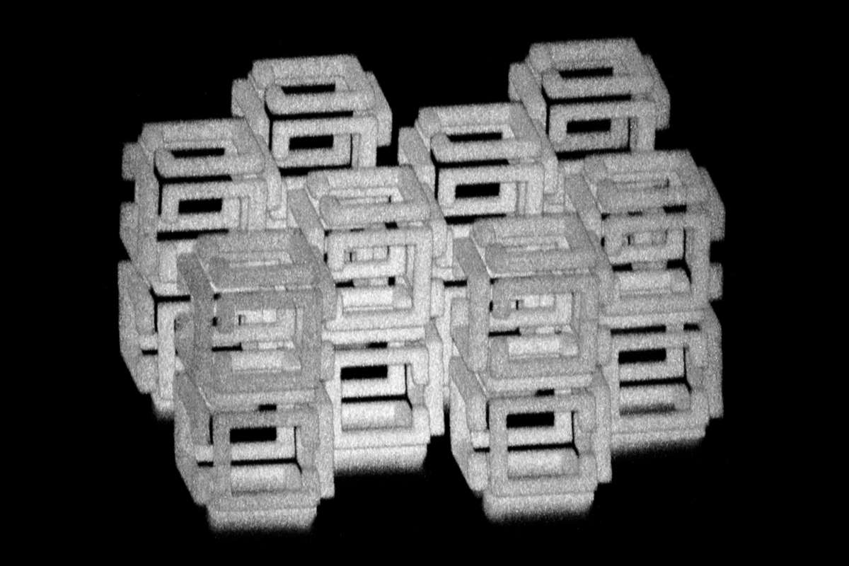 Complex 3D Structure Prior To Shrinking