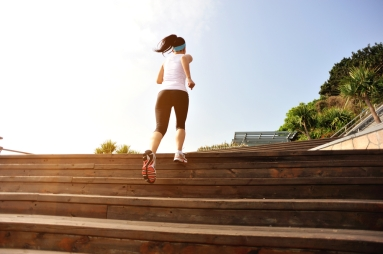 """The more flights of stairs a person climbs, and the more years of school a person completes, the """"younger"""" their brain physically appears"""