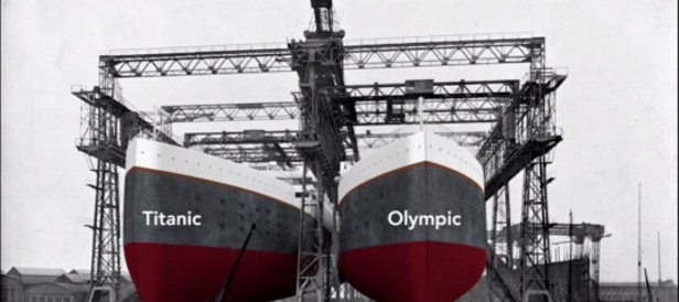 The Titanic and The Olympic