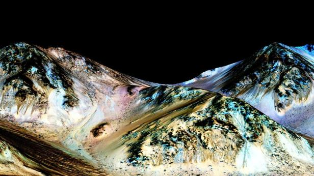 Evidence of water found on mars. Water on Mars, confirmed NASA