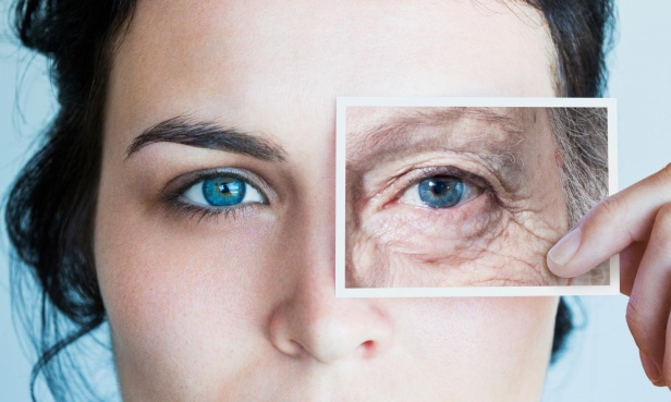 Aging process varies among people