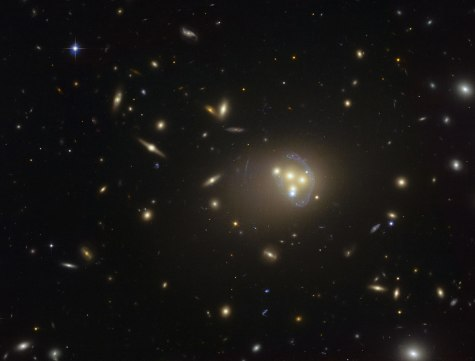 the galaxy cluster Abell 3827