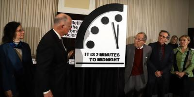 Doomsday Clock For 2019 Remains At Two Minutes To Midnight