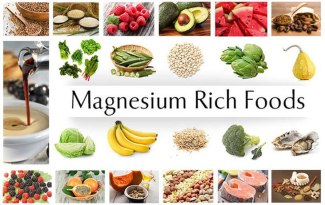 Spices, nuts, cereals, cocoa and green leafy vegetable such as spinach are rich sources of magnesium.