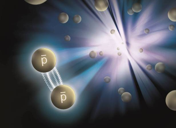 Physicists measured force that binds antimatter together. Matter and antimatter obey the same law of attraction
