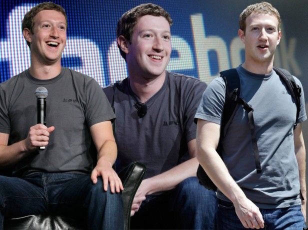 Mark Zuckerberg wears the same shirt everyday - it is a sign of genius