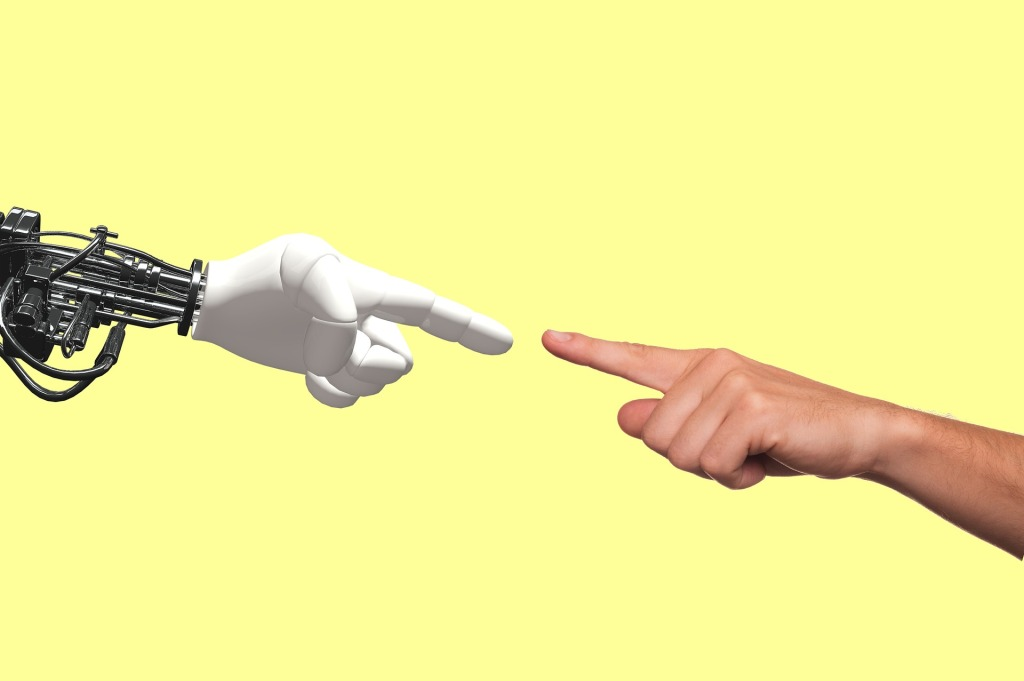 Teaching artificial intelligence to connect senses like vision and touch