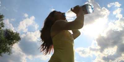Healthy young woman drinking water, It Takes 6 Litres Of Water To Kill A Person