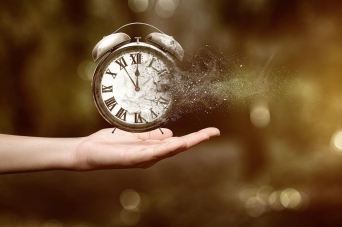 Why time moves forward, not backwards