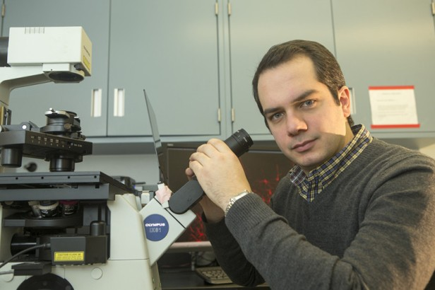 Jason Tucciarone of Stony Brook University's Department of Neurobiology and Behavior