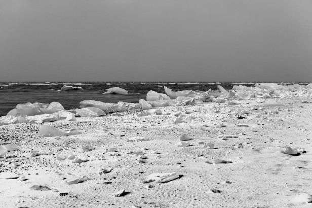Iceland Ice Chunks North Pole
