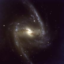 ESO VLT Optical Image of NGC 1365