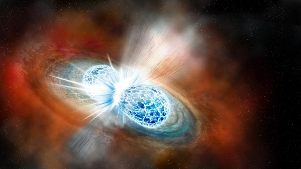 The Scientific Breakthrough Of 2017 Discovery of Two Neutron Stars Colliding