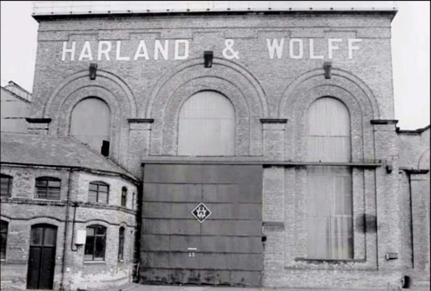 The Harland and Wolff Shipyard