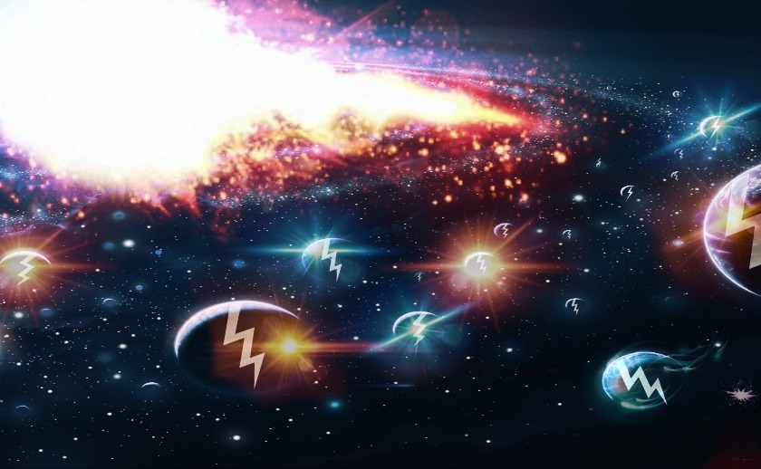When every matter in the universe – galaxies, stars, planets, atoms and even subatomic particles are ripped apart by the ever increasing expansion of the universe.  It is known as the Big Rip