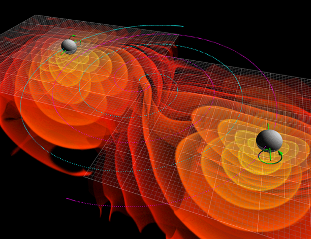 Gravitational Waves Simulation
