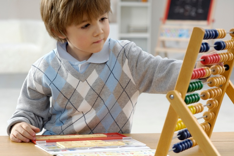 Playing games that involve counting numbers, puzzles, card, etc., can help in children's cognitive development.