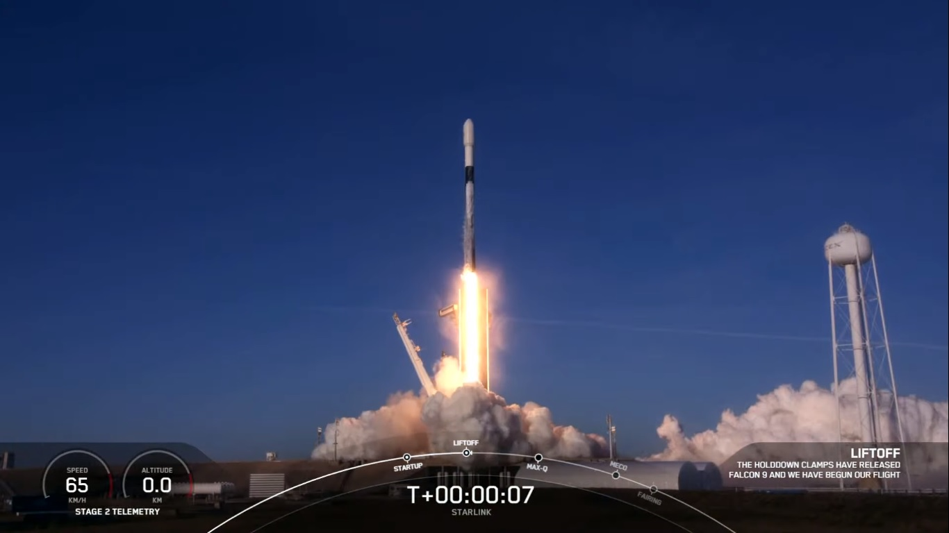 SpaceX's 17th Starlink Mission